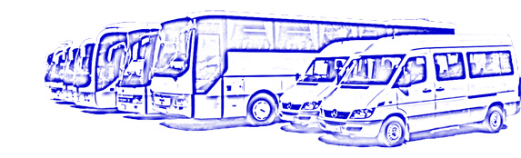 rent buses with coach hire companies from Ukraine